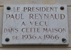 Maison -  Read more about him here: en.wikipedia.org/wiki/Paul_Reynaud