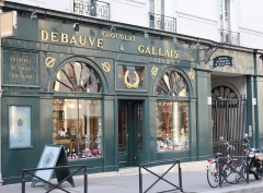 Magasin de Confiserie Debauve et Gallais - Deutsch: Confiserie Debauve et Gallais in Paris (7. Arrondissement), 30 rue des Saints-Pères