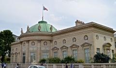 Ancien hôtel de Salm, actuel Palais de la Légion d'Honneur -  Hôtel de Salm, Paris.