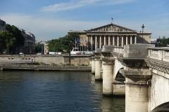 Pont de la Concorde -  Assemblée Nationale @ Pont de la Concorde @ Paris