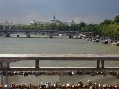 Pont de la Concorde -  Seine, depuis la Passerelle de Solférino