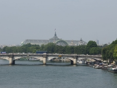 Pont de la Concorde -  Grand Palais and Seine river, Paris.