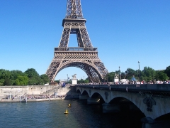 Pont d'Iéna - Italiano: Parigi - Tour Eiffel e Pont d'Iéna