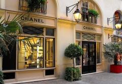 Cité Berryer -  Chanel store, Paris, France.