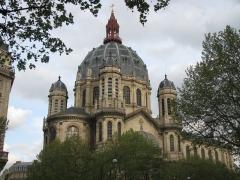 Eglise Saint-Augustin - English:   Dome of Saint-Augustin in Paris.