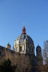 Eglise Saint-Augustin -   Dome @ Eglise Saint-Augustin @ Paris   Église Saint-Augustin, 8 Avenue César Caire, 75008 Paris, France.