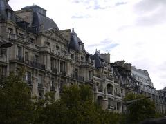 Ancien Hôtel Claridge -  Hôtel Claridge, Paris, 74, Avenue des Champs-Élysées