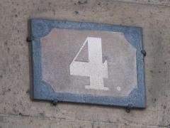 Hôtel de Coislin - English: House number 8 place de la Concorde. Paris 8th arr.