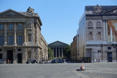 Hôtel de Coislin - English: The Place de la Concorde, one of the major public squares in Paris, France. Measuring 8.64 hectares in area, it is the largest square in the French capital.