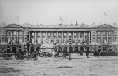 Hôtel de Coislin -  Hôtel de Crillon (Paris) during or just after World War I