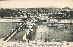 Hôtel Crillon -  Paris, pont et place de la Concorde