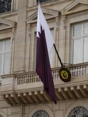 Hôtel Landolfo-Carcano, actuellement ambassade du Qatar -  Qatar embassy in Paris