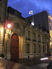 Hôtel Marbeuf - English: Residence of the Ambassador of Japan in Paris - France.