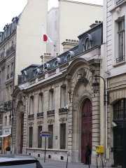 Hôtel Marbeuf - English: Hôtel Pillet-Will, former hôtel Marbeuf, 31 rue du Faubourg-Saint-Honoré, 8th arrondissement de Paris, current residence of the Japanese Ambassador in France. The embassy itself is on Avenue Hoche.
