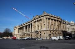 Hôtel du Plessis-Bellière - English: Hôtel de Crillon in work, located in Paris, France.