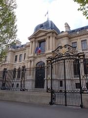 Ancien hôtel Potocki, actuellement Chambre de Commerce et d'Industrie de Paris -  Hôtel Potocki - Chambre de commerce et d'industrie de Paris.