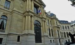 Ancien hôtel Potocki, actuellement Chambre de Commerce et d'Industrie de Paris - English: Avenue de Friedland - Handelskammer2 (Oktober 2016)