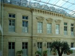 Hôtel de la Vaupalière - Français:   L\'hôtel de La Vaupalière à Paris, vue de la cour