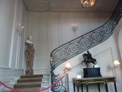 Hôtel de la Vaupalière - Français:   L\'hôtel de La Vaupalière à Paris, le hall d\'entrée