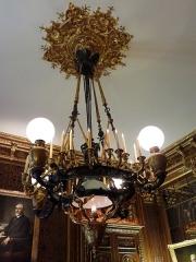 Hôtel de la Vaupalière - Français:   L\'hôtel de La Vaupalière à Paris, le salon Napoleon III