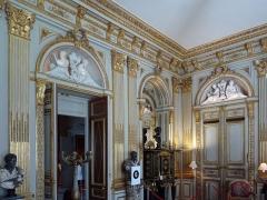 Hôtel de la Vaupalière - Français:   L\'hôtel de La Vaupalière à Paris, le grand salon