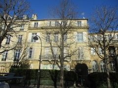 Immeuble - Français:   38 avenue Gabriel, Paris VIIIe.