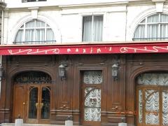 Immeuble - English: Maxim's Restaurant, Rue Royale, Paris