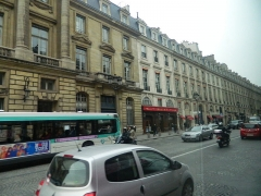 Immeuble -  Rue Royale à proximité du restaurant Maxim's, Paris, France.