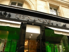 Immeuble - English: Cristal Lalique, Rue Royale, Paris