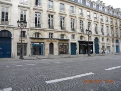 Immeuble - English: Rue Royale, Cristofle, Paris