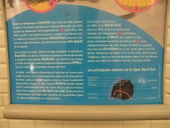 Métropolitain, station Saint-Lazare - English: Plaque about Jean-Baptiste Berlier who built the metro company Nord-Sud in Paris