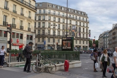 Métropolitain, station Saint-Lazare -  Accès à la station Saint-Lazare du métro de Paris