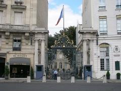 Hôtel du Ministère de l'Intérieur - Français:   Ministère de l\'Intérieur à Paris (Île-de-France, France).
