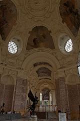 Petit Palais, actuellement musée des Beaux-Arts de la Ville de Paris -  Vue de l'intérieur du Petit Palais à Paris.