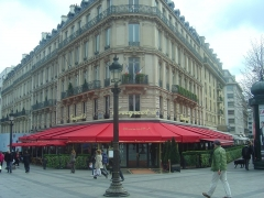 Brasserie restaurant Le Fouquet's - English: Cafe Le Fouquet's, Paris