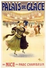 Théâtre Renaud-Barrault - Français:   Affiche pour la patinoire du Palais de Glace au Parc Chambrun de Nice (1907).