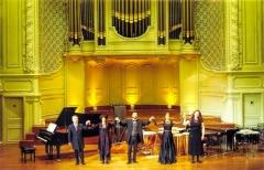 Salle Gaveau - Deutsch: Maximiliano de Brito, Carin Levine, Renato Mismetti, Cordula Rohde, Claudia Sgarbi im Salle Gaveau - Paris