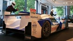 Immeuble - English: Toyota Le Mans car in Paris