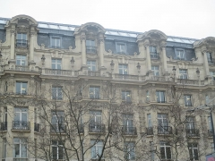Immeuble, actuellement immeuble du Crédit Commercial de France - Français:   Ancien Élysée Palace Hôtel, construit par Georges Chedanne en 1898.