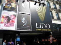 Immeubles - English: Casino LIDO on Champs Elysees, Paris