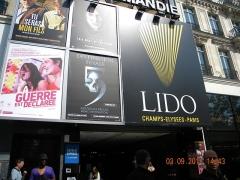 Immeubles - English:   Casino LIDO on Champs Elysees, Paris