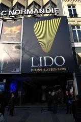 Immeubles - Français:   Le Lido - Paris. 06 mars 2009