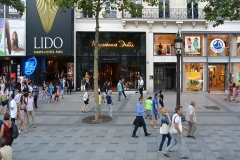 Immeubles -  Lido cabaret and Massimo Dutti, Paris