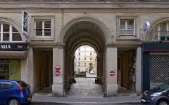 Cité d'Antin - Rue de Provence (n°61) - Paris IX