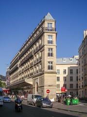 Cité d'Antin -  Parisian Flatiron building