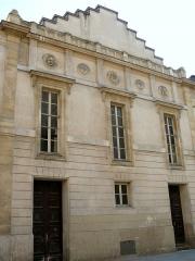 Ancien conservatoire National de Musique et de Déclamation - Paris 9ème arrondissement - Conservatoire national d'art dramatique - Façade face à l'église Saint-Eugène-Sainte-Cécile