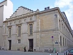 Ancien conservatoire National de Musique et de Déclamation - Théâtre du Conservatoire / Conservatoire national d'Art dramatique; 2bis, rue du Conservatoire, Paris, 9e arr