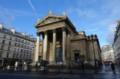 Eglise Notre-Dame-de-Lorette - English: The Church of Notre-Dame-de-Lorette, a neoclassical church in the 9th arrondissement of Paris. Address: 1 Rue Flechier, 75009 Paris, France.