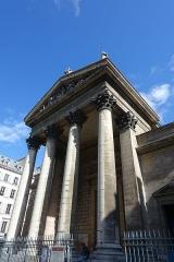 Eglise Notre-Dame-de-Lorette -  Façade principale de l\'église Notre-Dame-de-Lorette à Paris (75).