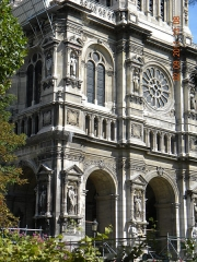 Eglise de la Trinité - English: Egise de la Sainte Trinite, Paris (detail)